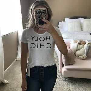 Tops - Holy Chic graphic tee